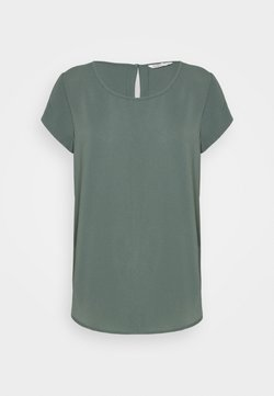 ONLY - ONLNOVA LUX SOLID - T-Shirt basic - balsam green