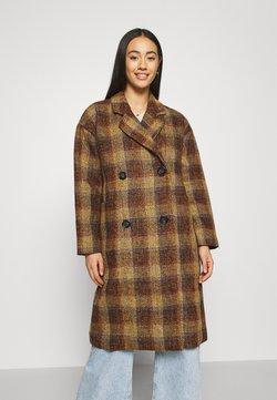 Nümph - NUBETHIA COAT - Abrigo - leather brown