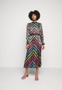 Olivia Rubin - MARLEY DRESS - Maxikleid - black/multi-coloured