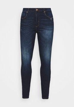 ONLY Carmakoma - CARFONA LIFE - Jeans Skinny Fit - dark blue denim