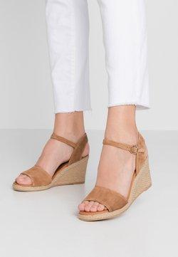 Billi Bi - Wedge sandals - cognac