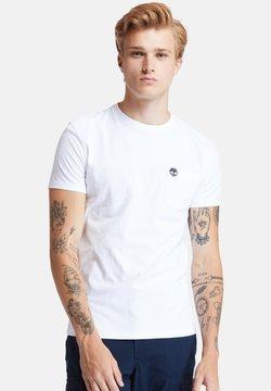 Timberland - SS DUNSTAN RIVER POCKET TEE - T-shirt basic - white