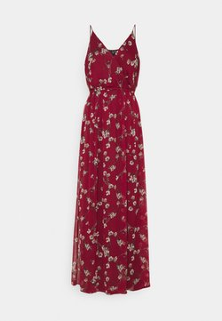 Vero Moda - VMWONDA WRAP DRESS - Maxi-jurk - tibetan red