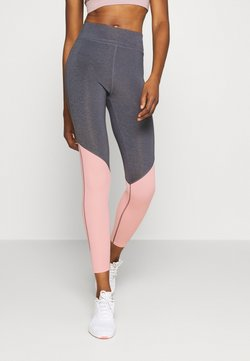 Even&Odd active - Tights - grey/pink_rose
