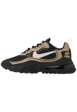 Nike Sportswear - AIR MAX 270 REACT RVL - Sneakers laag - black/light bone/khaki/metallic gold