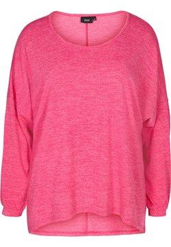 Zizzi - LONG SLEEVE - Bluse - pink