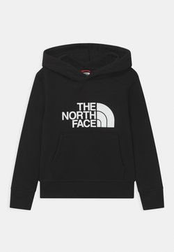 The North Face - YOUTH DREW PEAK HOODIE UNISEX - Kapuzenpullover - black/white