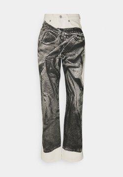 Weekday - ROWE JEANS TROMP PRINT - Straight leg jeans - tromp