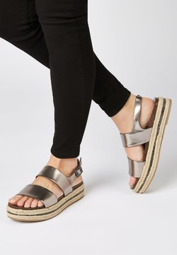 Next - PEWTER  - Plateausandalette - grey