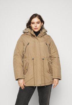 Vero Moda Curve - VMAGNESBEATE - Abrigo de invierno - sepia tint
