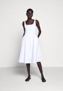 Club Monaco - WIDE NECK PANEL - Sukienka letnia - bright white