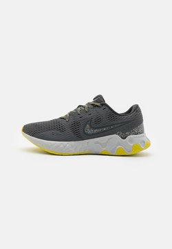 Nike Performance - RENEW RIDE 2 PRM - Zapatillas de running neutras - iron grey/dark smoke grey/high voltage/light smoke grey/limelight/grey fog