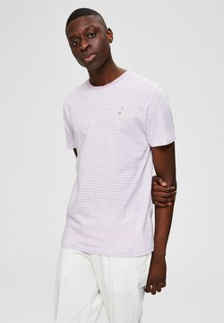 Selected Homme - Print T-shirt - lavender frost