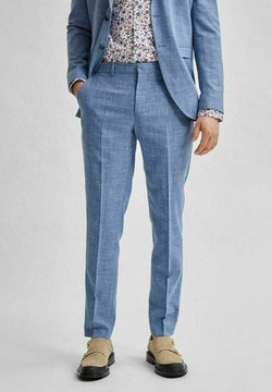 Selected Homme - Anzughose - light blue