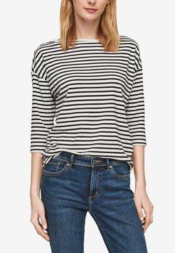 s.Oliver - Langarmshirt - cream stripes