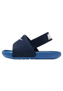 Nike Performance - Sandały trekkingowe - blue void/signal blue-pure platinum