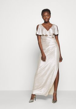 Lauren Ralph Lauren - LONG GOWN - Occasion wear - champagne/silver