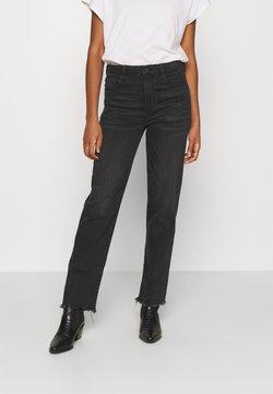 American Eagle - SLIM STRAIGHT - Slim fit jeans - black wash