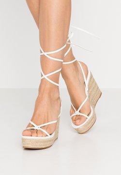 Glamorous - Sandalen met hoge hak - white