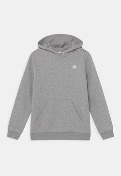 adidas Originals - HOODIE - Sweat à capuche - medium grey heather/white