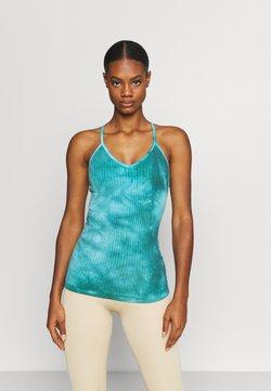 Sweaty Betty - MINDFUL SEAMLESS YOGA - Top - turquoise