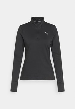 Puma - RUN FAVORITE  - Funktionsshirt - puma black