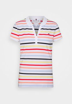 Tommy Hilfiger - ALMA  - Poloshirt - multi/white