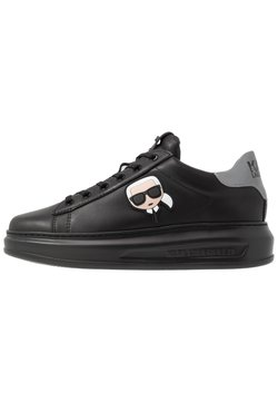 KARL LAGERFELD - KAPRI MENS IKONIC 3D LACE - Sneaker low - black