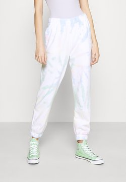 Hollister Co. - CHAIN DAD JOGGER - Jogginghose - neon tie-dye