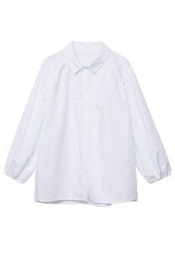 Mango - ASYMÉTRIQUE - Koszula - blanc cassé