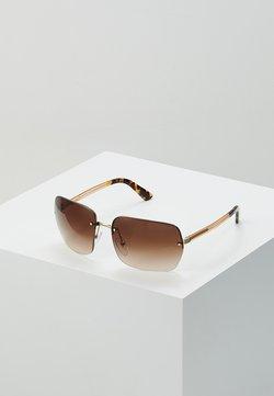 Prada - Lunettes de soleil - gold/brown