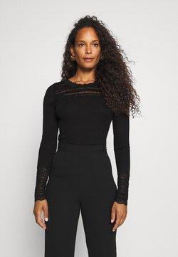 Rosemunde - Maglietta a manica lunga - black
