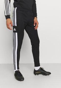 adidas Performance - SQUAD - Spodnie treningowe - black/white
