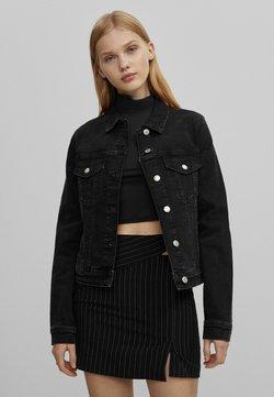 Bershka - Veste en jean - black