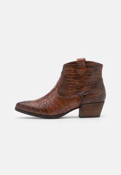TOM TAILOR - Ankle Boot - mokka