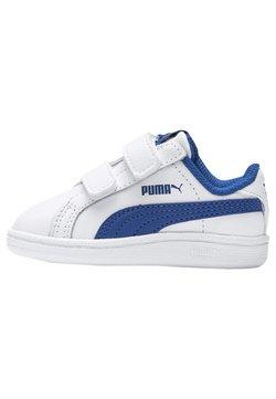 Puma - Vauvan kengät - white-lapis blue