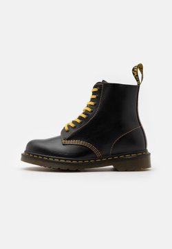 Dr. Martens - 1460 PASCAL UNISEX - Lace-up ankle boots - dark grey