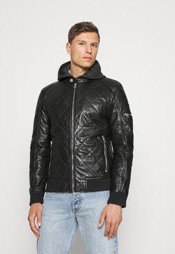 Gipsy - GMCLUDO - Leather jacket - black