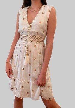 Mottele - Vestido informal - blanco