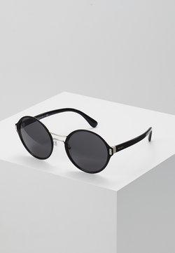 Prada - Lunettes de soleil - black/silver