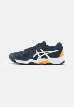ASICS - GEL-RESOLUTION 8 UNISEX - Zapatillas de tenis para todas las superficies - french blue/white