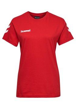 Hummel - GO WOMAN - T-shirt print - true red