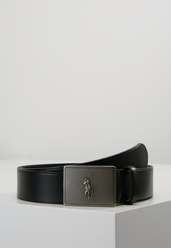 Polo Ralph Lauren - PLAQUE BELT - Ceinture - black
