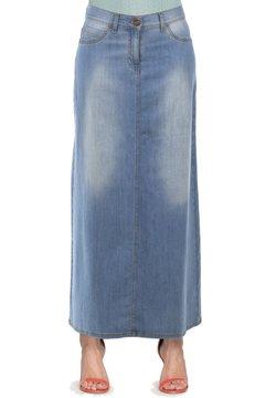 Carrera Jeans - Gonna lunga - lavaggio blu chiaro (super stone wash)