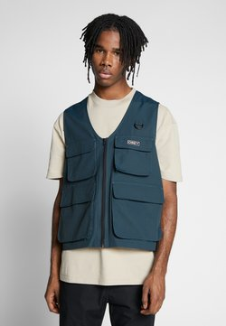 Obey Clothing - UNDERTONE VEST - Waistcoat - sapphire