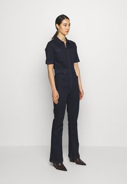 BDG Urban Outfitters - 70S STRETCH FLARE BOILERSUIT - Haalari - indigo