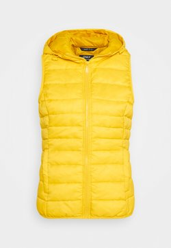 ONLY Tall - ONLNEWTAHOE QUILTED WAISTCOAT TALL - Smanicato - lemon