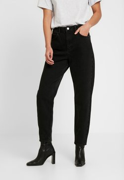 Miss Selfridge - ARLOW MOM - Relaxed fit jeans - black
