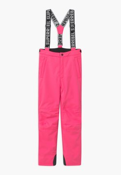 SuperRebel - SUSTAINABLE UNISEX - Täckbyxor - fluo pink