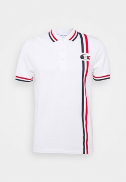 Lacoste Sport - OLYMP - Polo - white/navy blue/red